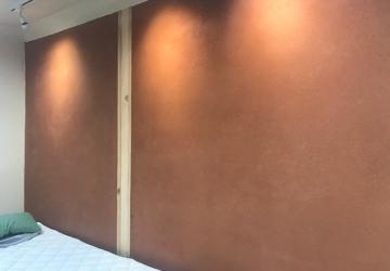 Enduit monocouche sur mur BTC