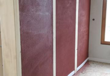 Platrerie traditionnel, argile, brique terre cru